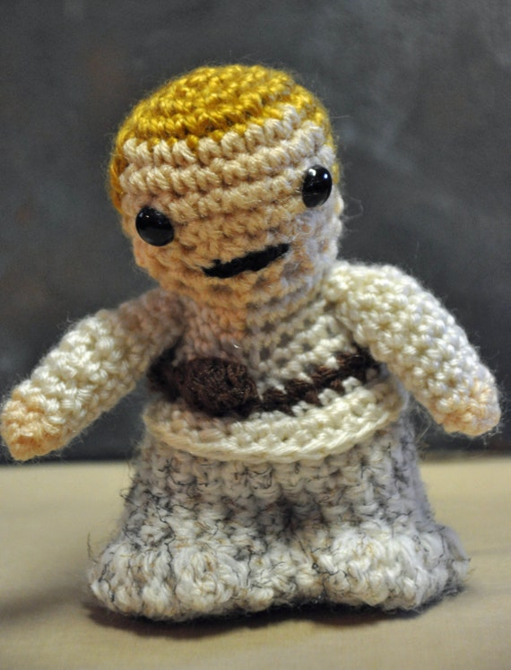 LUKE SKYWALKER AMIGURUMI Crochet Yarn Star by ...