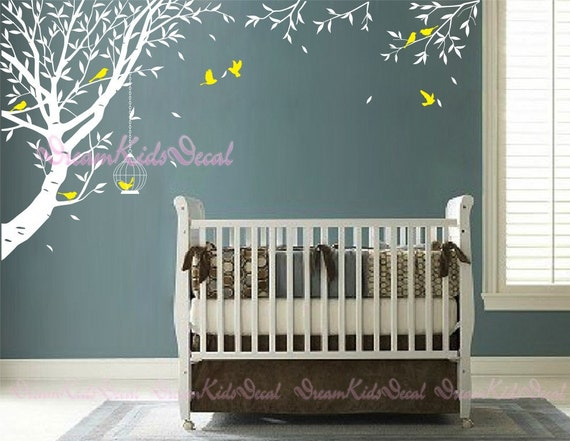 Wall Decal Tree wall decal Living room wall decalsTree