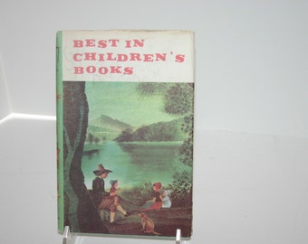 Best in Children's Books Rip Van Winkle etc. 1959 hardback w/ DJ