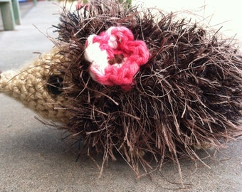 Playful Plush Porcupine