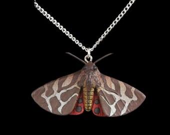 Tiger Moth Necklace