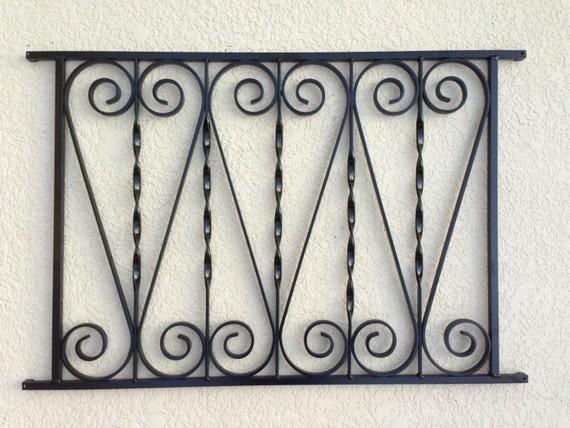 vintage screen door grille 3