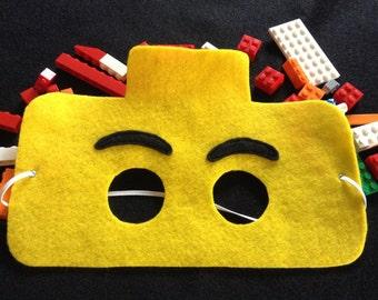 Brick mask set of 6