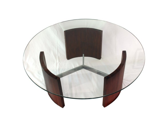 Radius Coffee Table By Vladimir Kagan For Selig Hold For