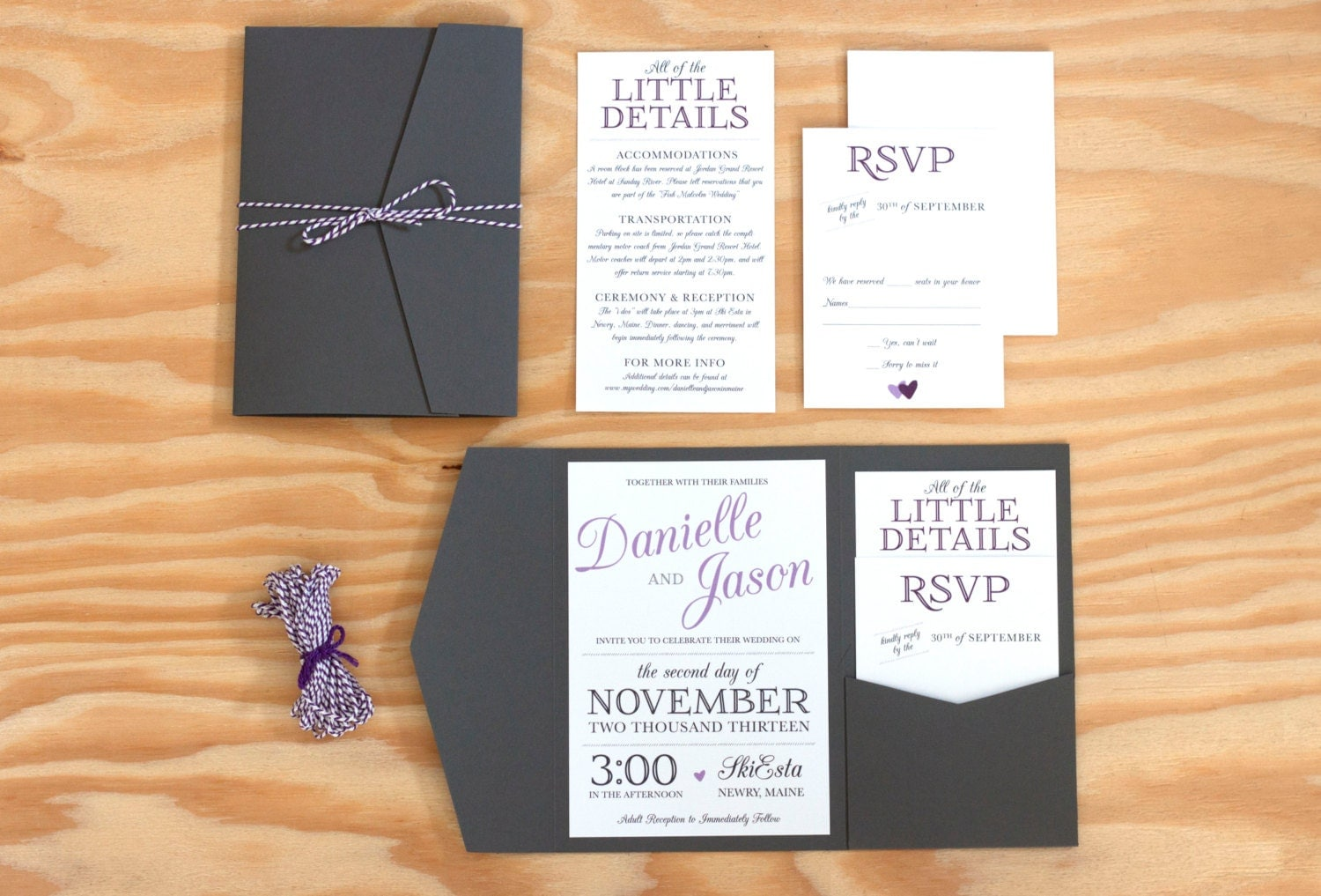 Pocket Wedding Invitation could be nice ideas for your invitation template