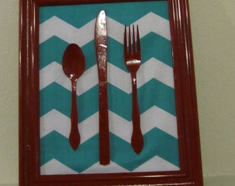 Kitchen Silverware Decoration