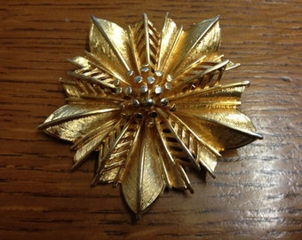A Vintage Coro Brooch Designed By Adolph Katz.