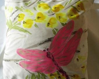 Designers Guild Cushion Cover in Kimono Blossom