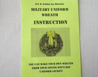 ACU Militray Uniform Wreath Instruction by Mitchie