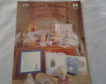 1980 Sweet Dreams Cross Stitch Vaness-Ann Collection