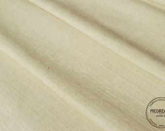 Homespun Linen Hemp per Yard lenght - Antique European fabric - upholstery hemp fabric