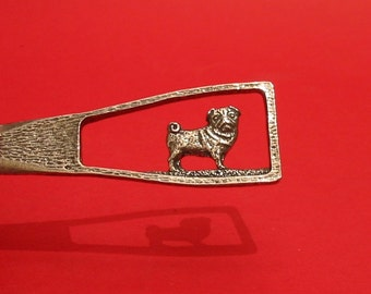 Pug Dog Design Pewter Letter Opener Gift Boxed Pug Gifts