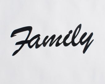 Family Metal sign- Family sign