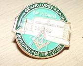 Masonic Lodge Button