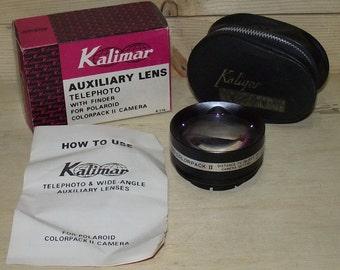 Kalimar Polaroid Auxiliary Telephoto Lens