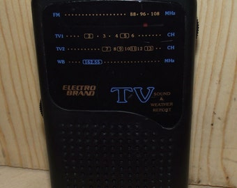 Electro TV Weather Transistor Radio