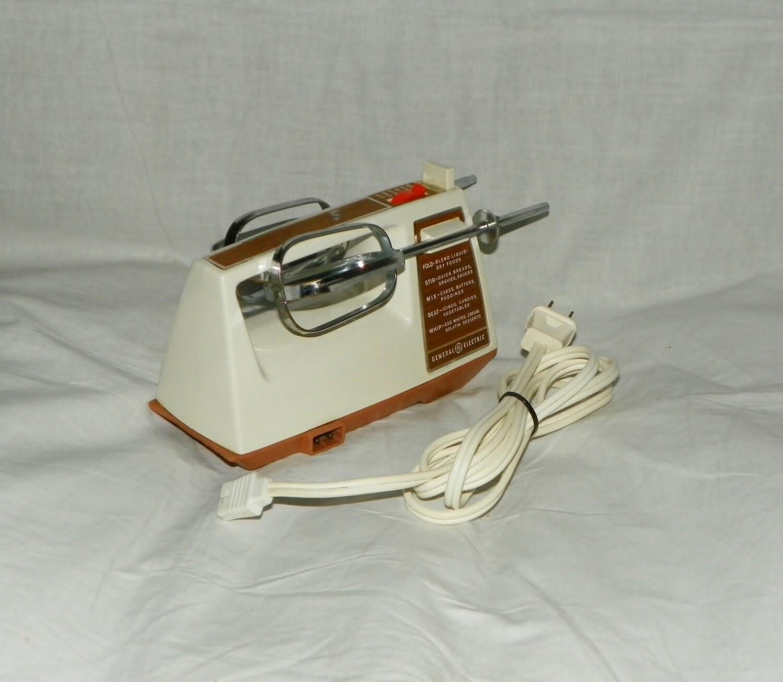 Vintage ge general electric handheld hand mixer beaters for General electric mixer vintage