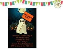 Halloween Invitation, Halloween Party Invitation, Halloween Printable, Halloween Birthday Party, Kids Halloween Invite