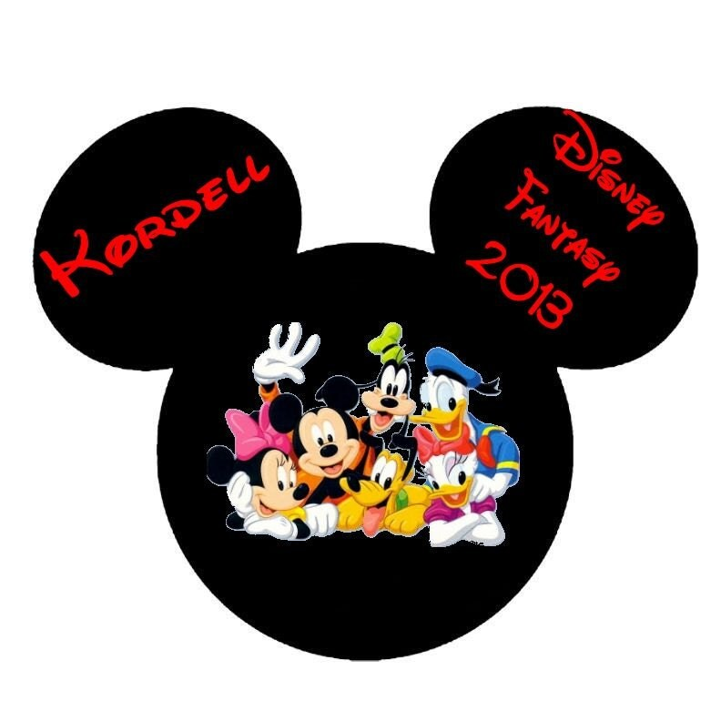 Disney Cruise Magnets For Stateroom Door 4 Magnets