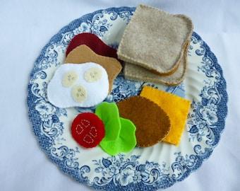 Felt Sandwich Playset Deluxe