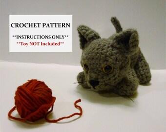 Kitten Crochet Pattern - Adorable Amigurumi Kitten