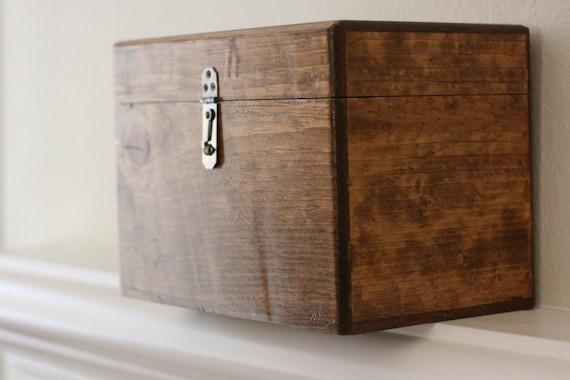 rustic wood wedding card box – Wooden Card Box Wedding