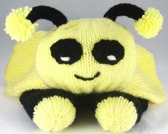 Bee Pyjama Case Knitting Pattern for Boy or Girl