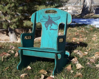 Puzzle Rocker-Rocking chair for kids, Wood rocking chair for kid's.