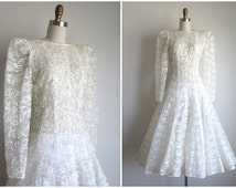 Popular items for 1970s wedding dress on etsy for 1970s wedding dresses for sale