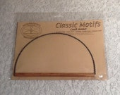 "Classic Motifs Craft Holder 8"" Heirloom Twisted Wire Holder for Needlepoint, Quilting, Craft Projects"