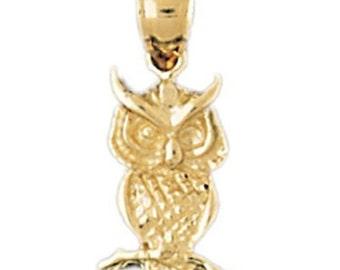 Owl Charm (JC-132)
