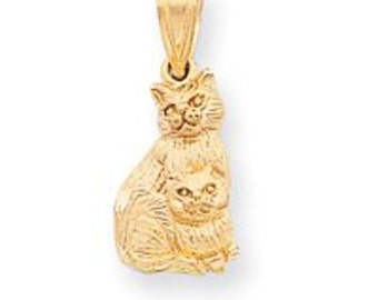Two Cat Charm (JC-748)