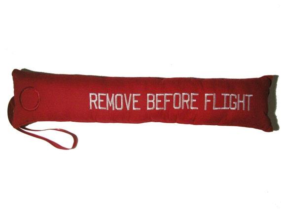 Remove Before Flight Travel Pillow