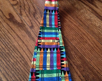 Crayons Necktie/School pictures; Fits 3yrs+
