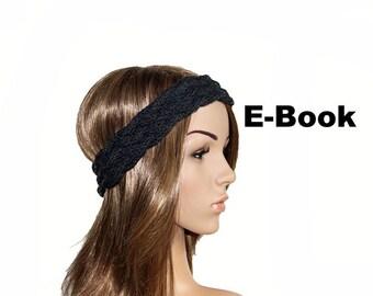Strickanleitung E-Book Stirnband #03 Zopfmuster