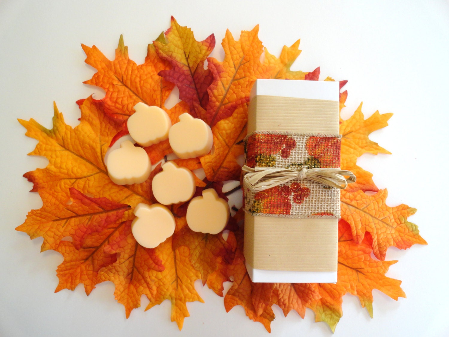 thanksgiving hostess gift fall theme gift set handcrafted. Black Bedroom Furniture Sets. Home Design Ideas