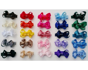 Handmade Hair Clip Small Boutique Bow