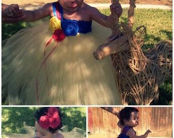 Snow White Tutu Dress - Snow White Custom - Snow White Princess - Snow White