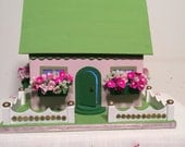 Summer Cottage with Flower Boxes