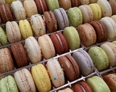 12 ct. Wedding/ Favor Sampler Box - Gluten Free French Macarons are a full dessert packed into just a couple bites.