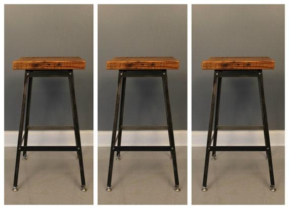 industrial metal stool 3