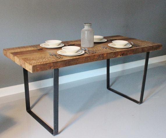 One Leg Tables Table Modern,steel Leg Dining