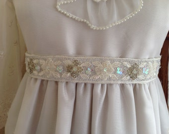 Sash-wedding-comunion-belt for dress