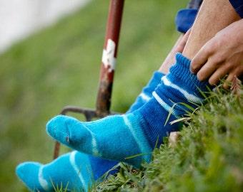 SHOX | Individually hand dyed NZ Merino Socks (Thermal)