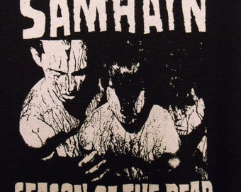 SAMHAIN patch horror punk rock misfits  Free Shipping