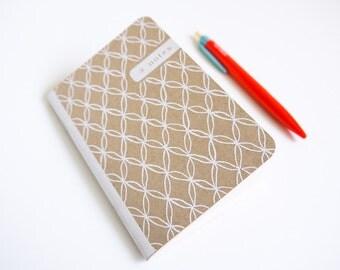 Kraft Pocket Notebook, Mini Journal