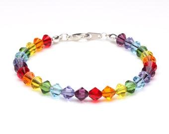 Swarovski Crystal Chakra Bracelet