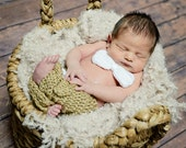 Crochet Baby Pants Breeches Bowtie for Boy Set Photography Prop