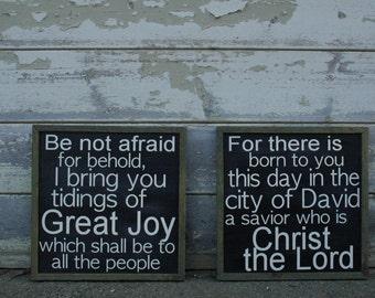The Gospel of Luke (Luke 2:10-11)