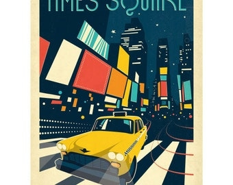 Times Square New York City Wall Decal #42218